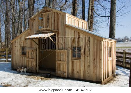 Homemade Barn