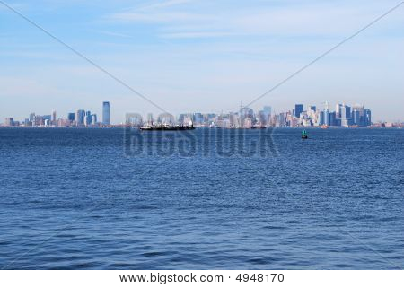 Manhattan And Hoboken