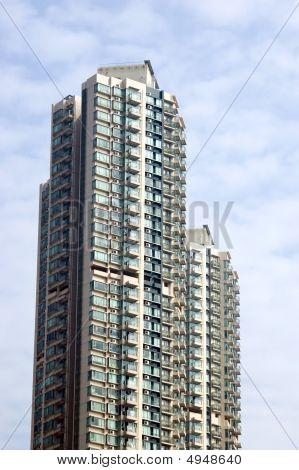 Residential Skyscraper In Hongkong