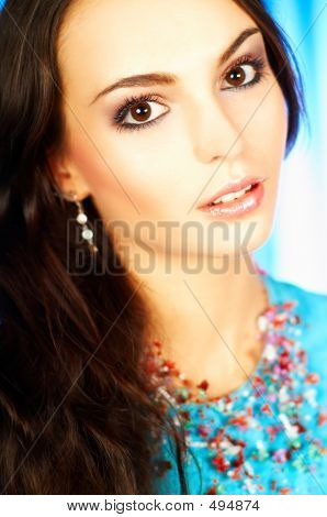 Brunette Model Portrait