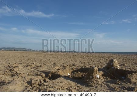 Kind On A Beach About A City Anapa