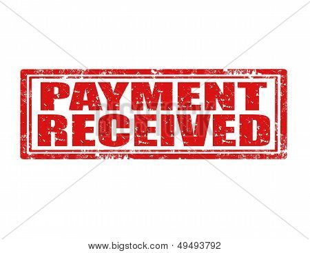 Payment Received-stamp