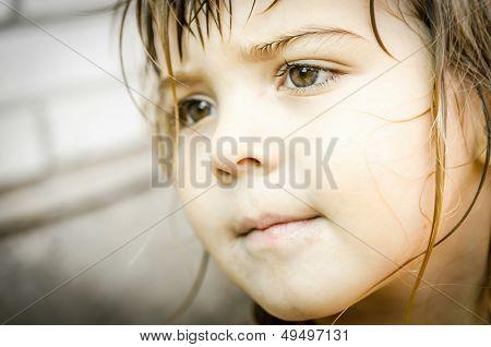 Kleine Mädchen-Portrait