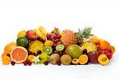 image of eatables  - fresh various fruits - JPG