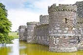 picture of anglesey  - Beaumaris castle in Anglesey North Wales, UK