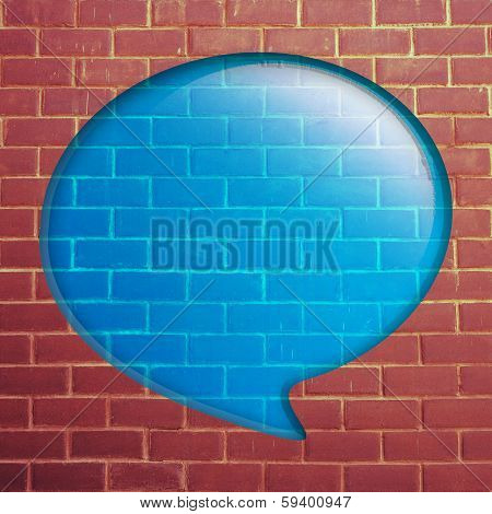 Red Brick Wall With Quote Speech
