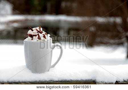 Hot Chocolate Or Coffee