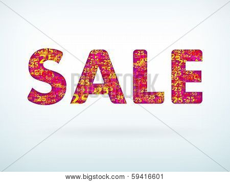 Sale Poster With Discount