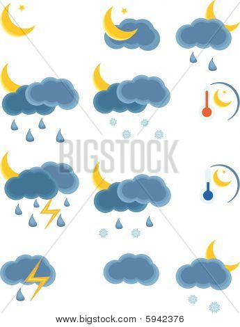 Weather Night Icon