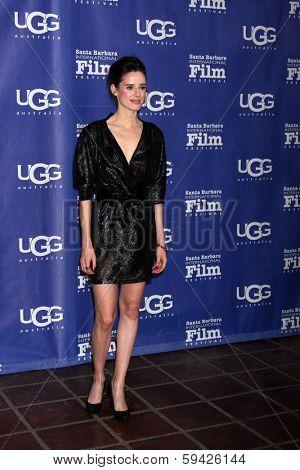 SANTA BARBARA - FEB 1:  Pilar Lopez De Ayala at the SBIFF Honors Cate Blanchett as Performer of the Year at Arlington Theater on February 1, 2014 in Santa Barbara, CA