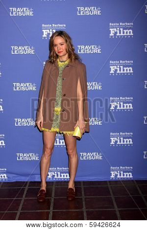 SANTA BARBARA - FEB 4:  Brie Larson at the Santa Barbara International Film Festival Virtuosos Awards at Arlington Theater on February 4, 2014 in Santa Barbara, CA