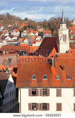 Germany. Tuebingen. Old Town