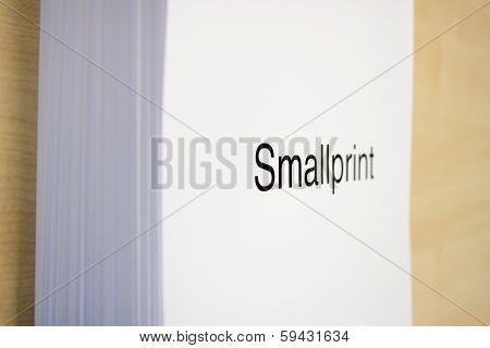 Smallprint