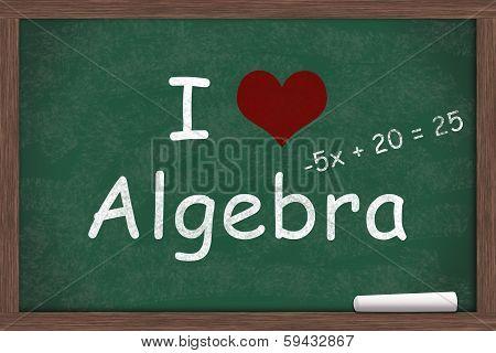 I Love Algebra