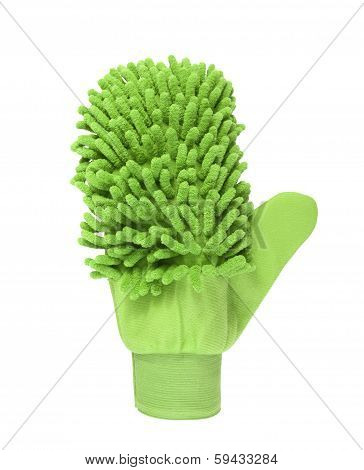 wash glove for domestic cleaning