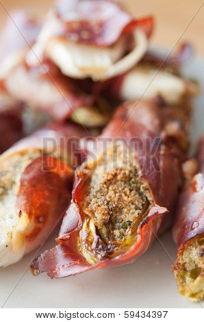 Chicory Gratin with bacon
