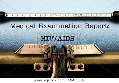 Medical Report - Hiv Aids