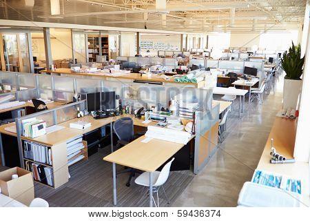 Empty Modern Open Plan Office