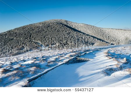 Appalachian Trail Winter Scenic Roan Highlands