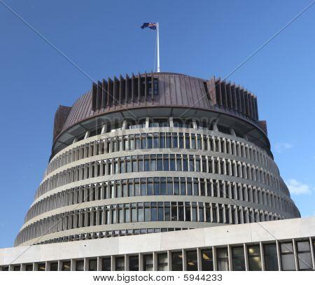 Beehive Parliament Building, Wellington