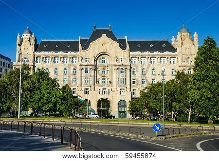 Gresham Palace In Budapest, Hungary