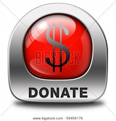 donate icon financial support and give to charity help fund raising give and raise money donation
