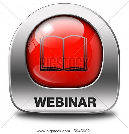 webinar online internet web conference meeting or workshop live video chat