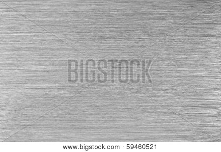Brushed steel metal texture