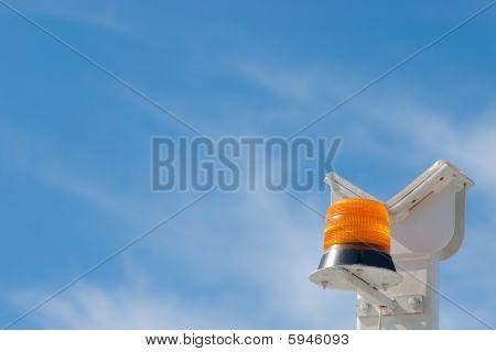 Orange Alarm flasher