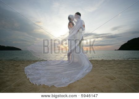 Newlyweds And Wind