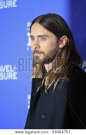 SANTA BARBARA - FEB 4: Jared Leto at the 29th Santa Barbara International Film Festival - Virtuosos Award Ceremony held at Arlington Theatre on February 4, 2014 in Santa Barbara, CA