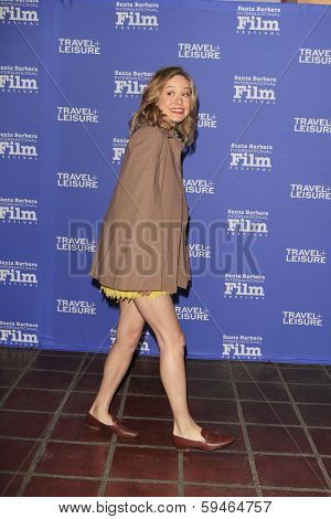SANTA BARBARA - FEB 4: Brie Larson at the 29th Santa Barbara International Film Festival - Virtuosos Award Ceremony held at Arlington Theatre on February 4, 2014 in Santa Barbara, CA