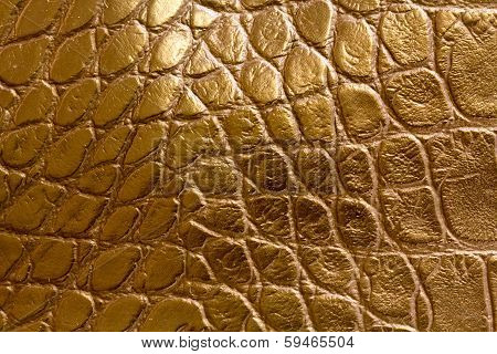 Lookalike Leather Closeup