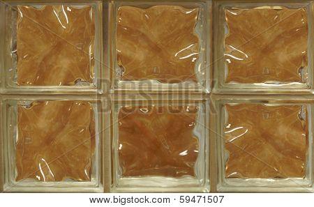 Wall Of Glass Blocks