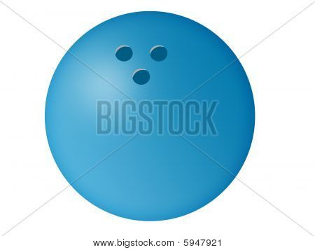 Bowling Ball Illustration