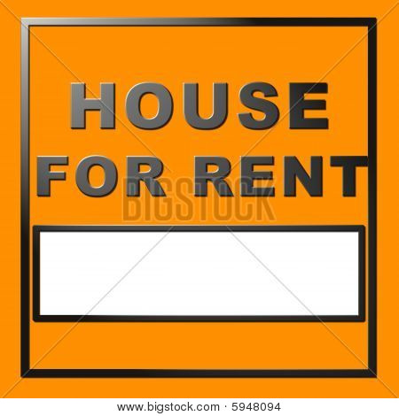 Chrome Text House For Rent
