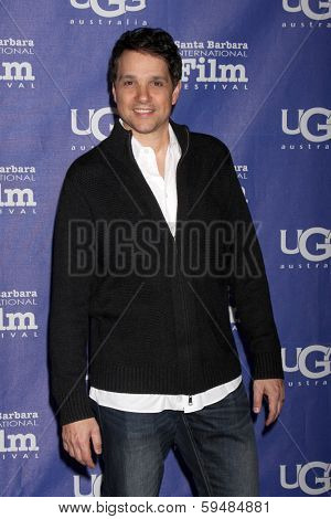 SANTA BARBARA - FEB 5:  Ralph Macchio at the Santa Barbara International Film Festival Honors Oprah Winfrey at Arlington Theater on February 5, 2014 in Santa Barbara, CA
