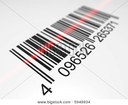 Scanning a bar code