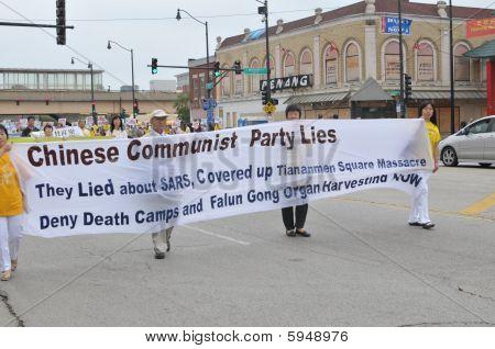 Protesto anticomunista