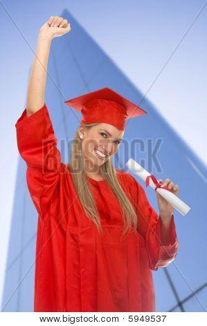 Weibliche Absolventen
