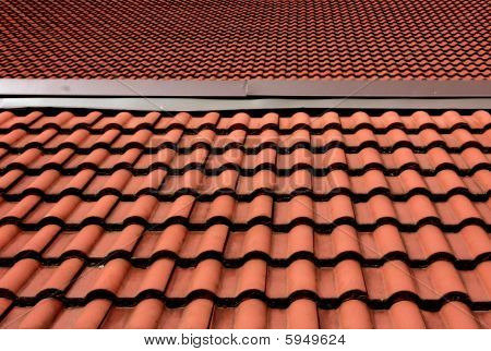 Red tiled roof