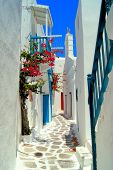 Picturesque Greek street