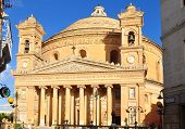 Rotunda cathedral in Mosta