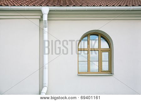 Gutter With Window