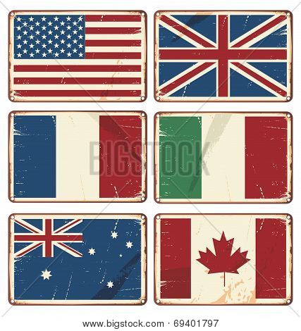 Flags Signs