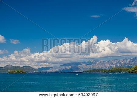 The Skorpios island in Nidri Lefkada Greece