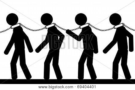 Many slaves
