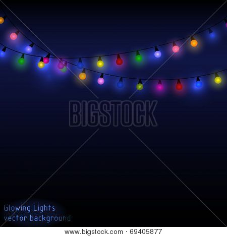 Lights Glowing in the Dark