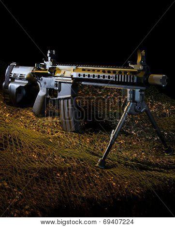Semi automatic modern sporting rifle