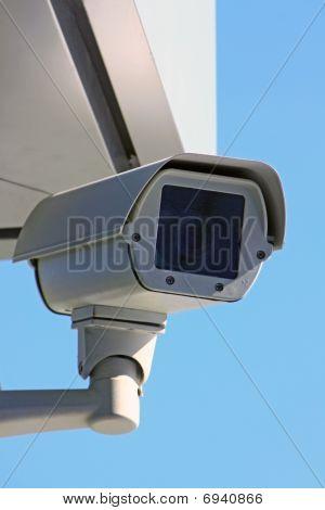 surveillance camera under sky